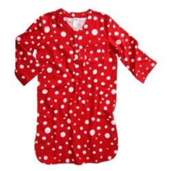 Hatley Brushed Flannel Nightshirt - Long Sleeve (For Women)