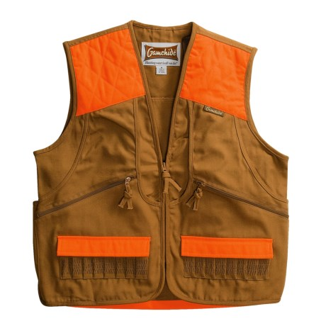 Game Hide Cotton Duck Upland Vest (For Men)