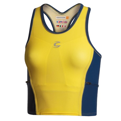 Cannondale Triathlon Tank Top Shirt (For Women)
