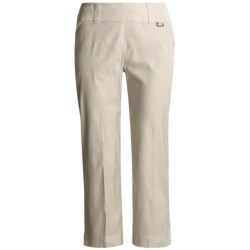 Two Star Dog Elaine Ankle Pants - Stretch Linen (For Women)