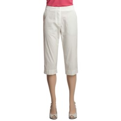 Two Star Dog Kelly Capri Pants - Garment-Dyed Twill (For Women)