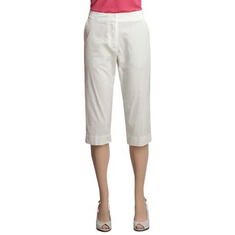 Two Star Dog Kelly Capri Pants - Garment-Dyed Twill (For Women)
