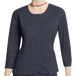 Two Star Dog Anna Jacket - Garment-Dyed Twill, 3/4 Sleeve (For Women)