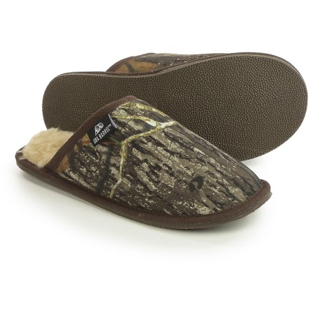M&F Western Products, Inc. M&F Western Double Barrel Slide Slippers - Fleece Lined (For Men)