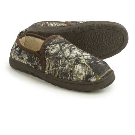 M&F Western Products, Inc. M&F Western Double Barrel Slippers - Fleece Lined (For Men)