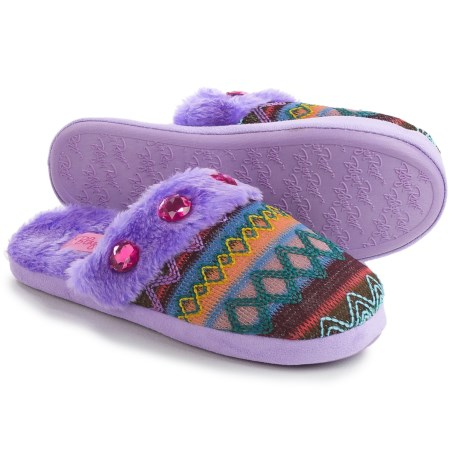 M&F Western Products, Inc. Knit Print Slide Slippers (For Women)