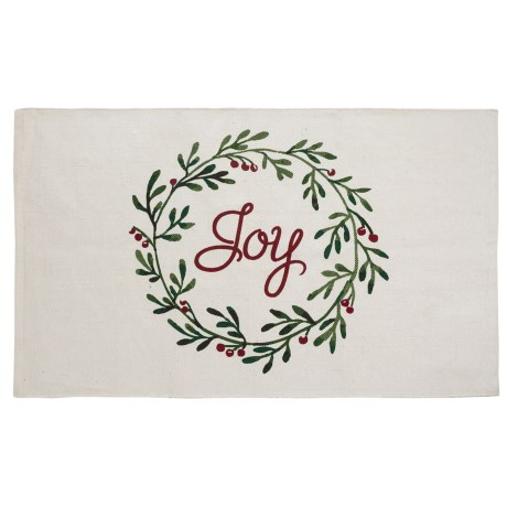 """THRO Holiday Accent Rug - 27x45"""""""