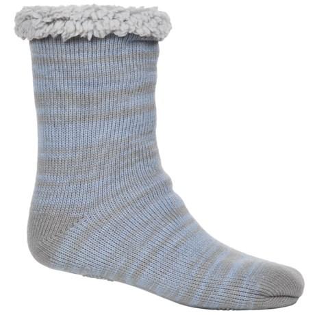 Muk Luks Marled Cabin Socks - Fleece Lined, Mid Calf (For Women)
