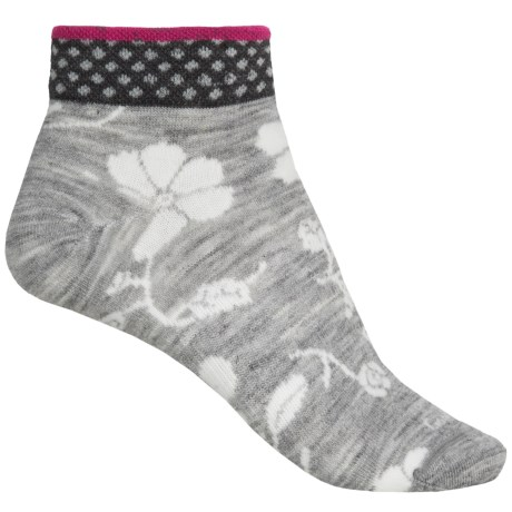Goodhew Botany Pop Socks - Merino Wool, Ankle (For Women)