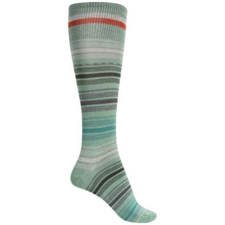 Goodhew Ringlet Socks - Merino Wool, Over the Calf (For Women)