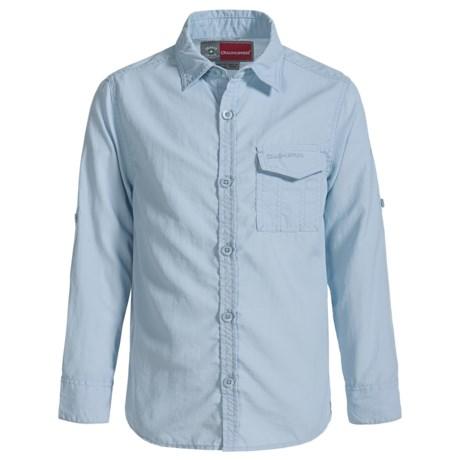 Craghoppers Explorer NosiLife® Travel Shirt - UPF 40+, Long Sleeve (For Little and Big Kids)