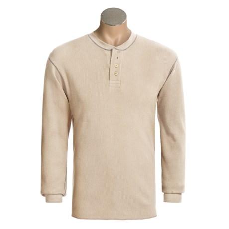 Dakota Grizzly Scout Henley Shirt - Long Sleeve (For Men)