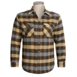 Grizzly Brawny Shirt - Flannel, Long Sleeve (For Tall Men)
