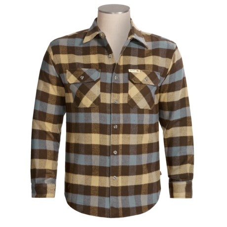 Heavy Flannel Shirt Review Of Grizzly Brawny Shirt