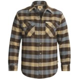 Dakota Grizzly Brawny Shirt - Flannel, Long Sleeve (For Men)