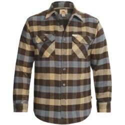 Dakota Grizzly Brawny Shirt - Flannel, Long Sleeve (For Men)