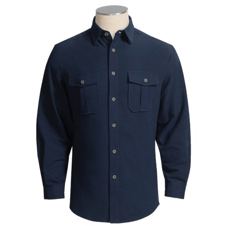 Dakota Grizzly Baxter Shirt - Cotton Chamois, Long Sleeve (For Men)