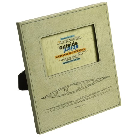 """Outside Inside Tech Picture Frame - 3x5"""""""