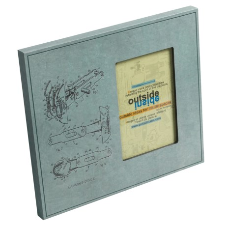 Outside Inside Rock Climbing Picture Frame