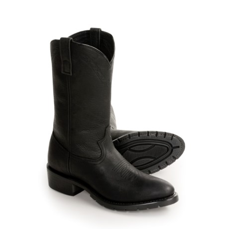 Dan Post Cowhide Western Work Boots - Pull-Ons (For Men)