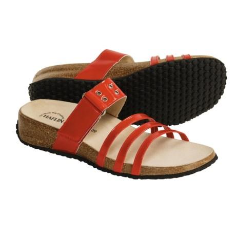 Haflinger Joy Sandals - Patent Leather (For Women)