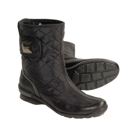 Aquatalia by Marvin K . Boom Weatherproof Boots - Quilted Microfiber, Leather Trim (For Women)