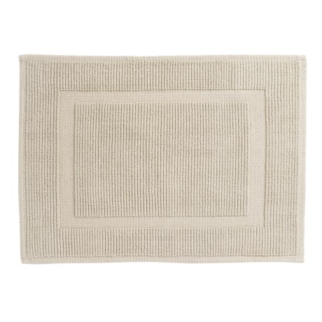Sanctuary Collection Woven Cotton Bath Mat - 21x34""