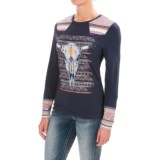 Cruel Girl Steer Shirt - Stretch Cotton, Long Sleeve (For Women)
