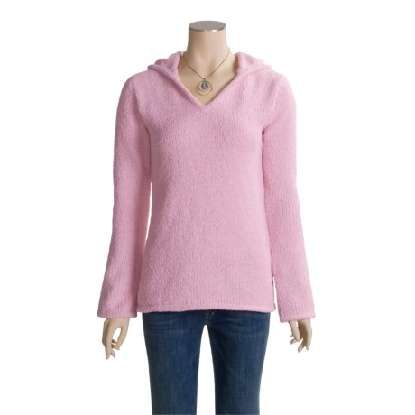 Colorado Clothing Chenille Hoodie Sweater - V-Neck (For Women)