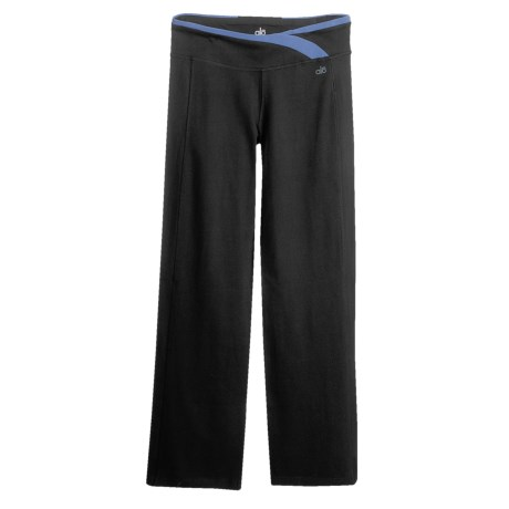 Alo Organic Cotton Stretch Pants (For Women)