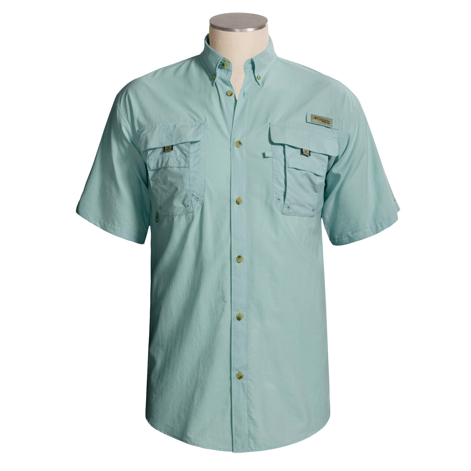 Columbia sportswear bahama ii fishing shirt for big and for Big and tall quick dry shirts