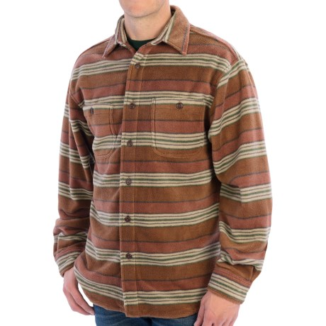 Grizzly Logan Microfleece Shirt - Button Front (For Men)