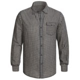 Grizzly Trent Gingham Plaid Shirt - Brushed Cotton, Long Sleeve (For Men)