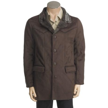 Grizzly Parker Coat - Ultrasuede, Faux-Fur Interior (For Men)