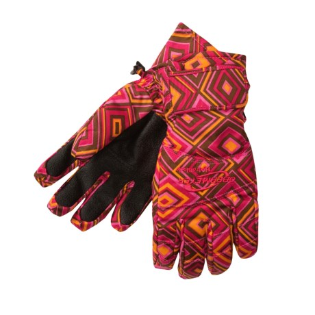 Obermeyer Alpine Print Gloves - Insulated (For Girls)
