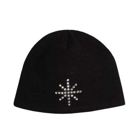 Obermeyer Snowflake Knit Hat (For Girls)