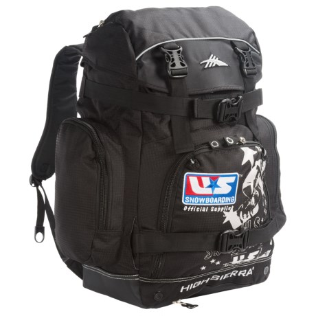 High Sierra U.S. Snowboard Team Boot Backpack