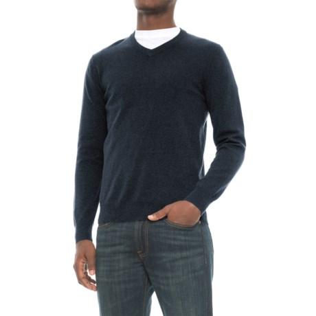 Mark Law Cotton Sweater - V-Neck, Long Sleeve (For Men)