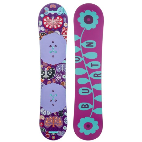 Burton Chicklet Snowboard (For Big Girls)