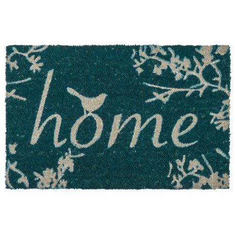 THRO Home Birds Coir Doormat - 18x28""