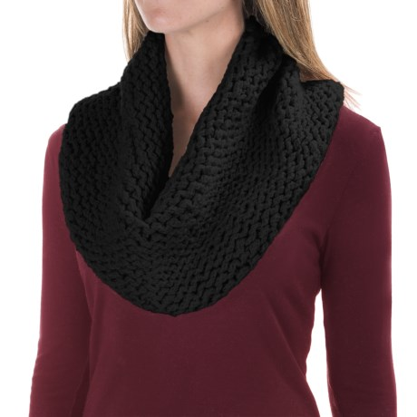Indigenous Eco Infinity Scarf - Organic Cotton (For Women)