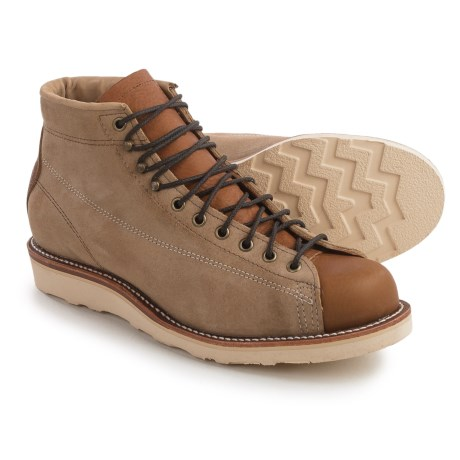 Chippewa General Utility Bridgemen Boots - Suede (For Men)