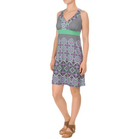 Gerry Tile Getaway Racerback Dress - Built-In Bra, Sleeveless (For Women)