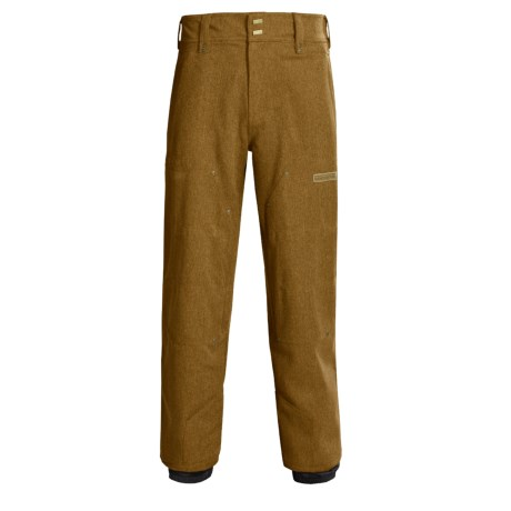Obermeyer Flint Snow Gabardine Ski Pants - Insulated (For Men)