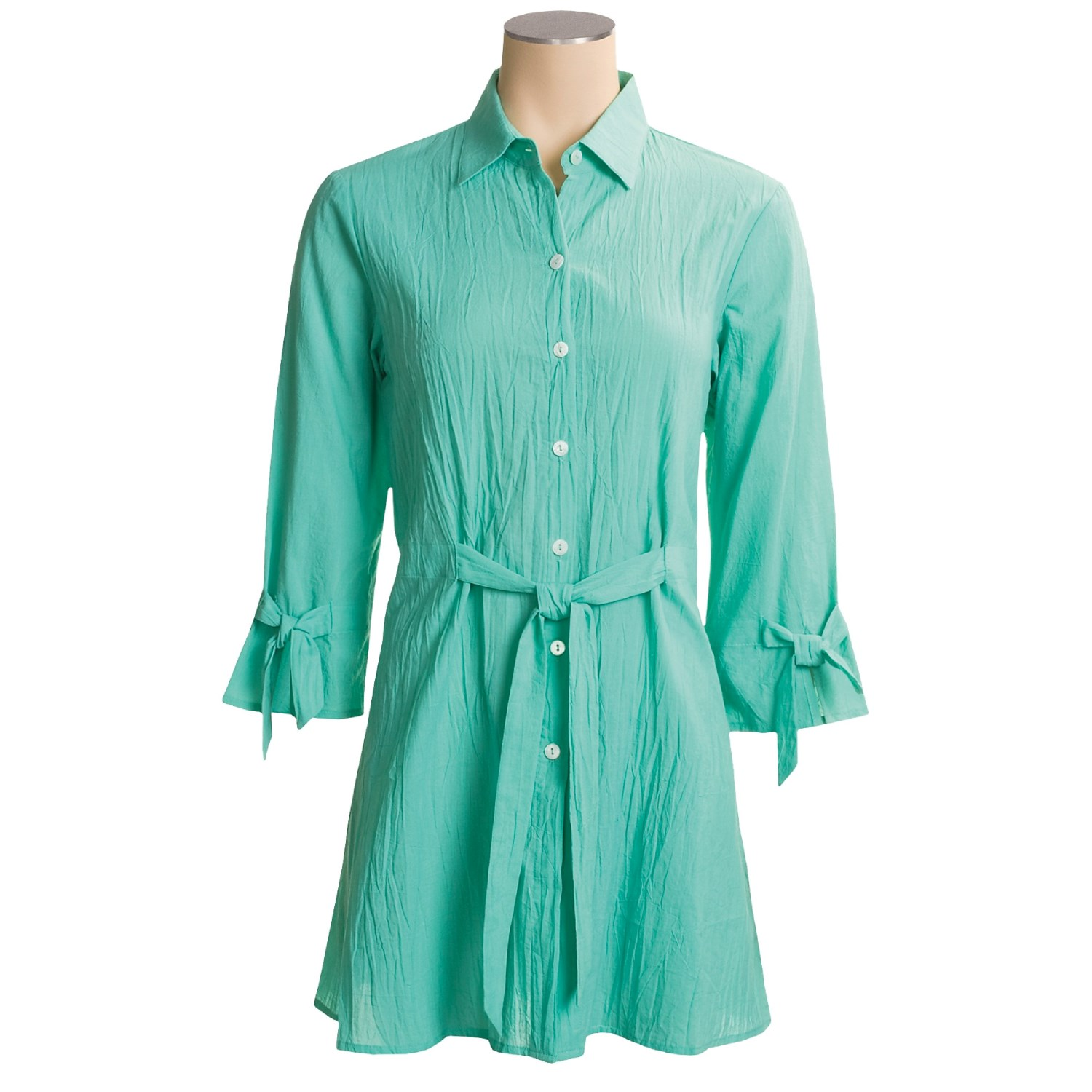 Tommy bahama crinkle lawn shirt dress for women 2528k for Tommy bahama long sleeve dress shirts