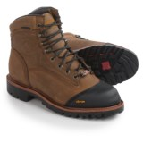 "Chippewa Apache Leather Work Boots - Waterproof, Insulated, 6"" (For Men)"