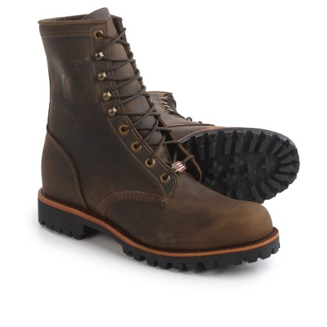 "Chippewa Selkirk Work Boots - Leather, 8"" (For Men)"
