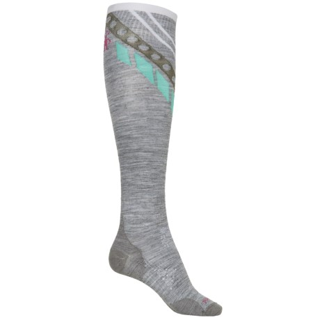 SmartWool PhD Ski Pattern Socks - Over the Calf (For Women)