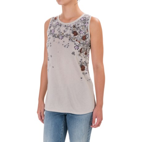 For the Republic Floral Tank Top (For Women)