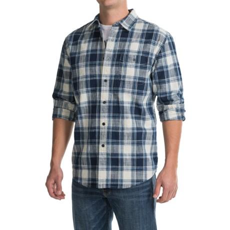 Pendleton Preston Indigo Plaid Shirt - Long Sleeve (For Men)
